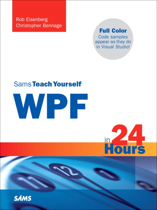 Sams Teach Yourself WPF in 24 Hours (eBook)